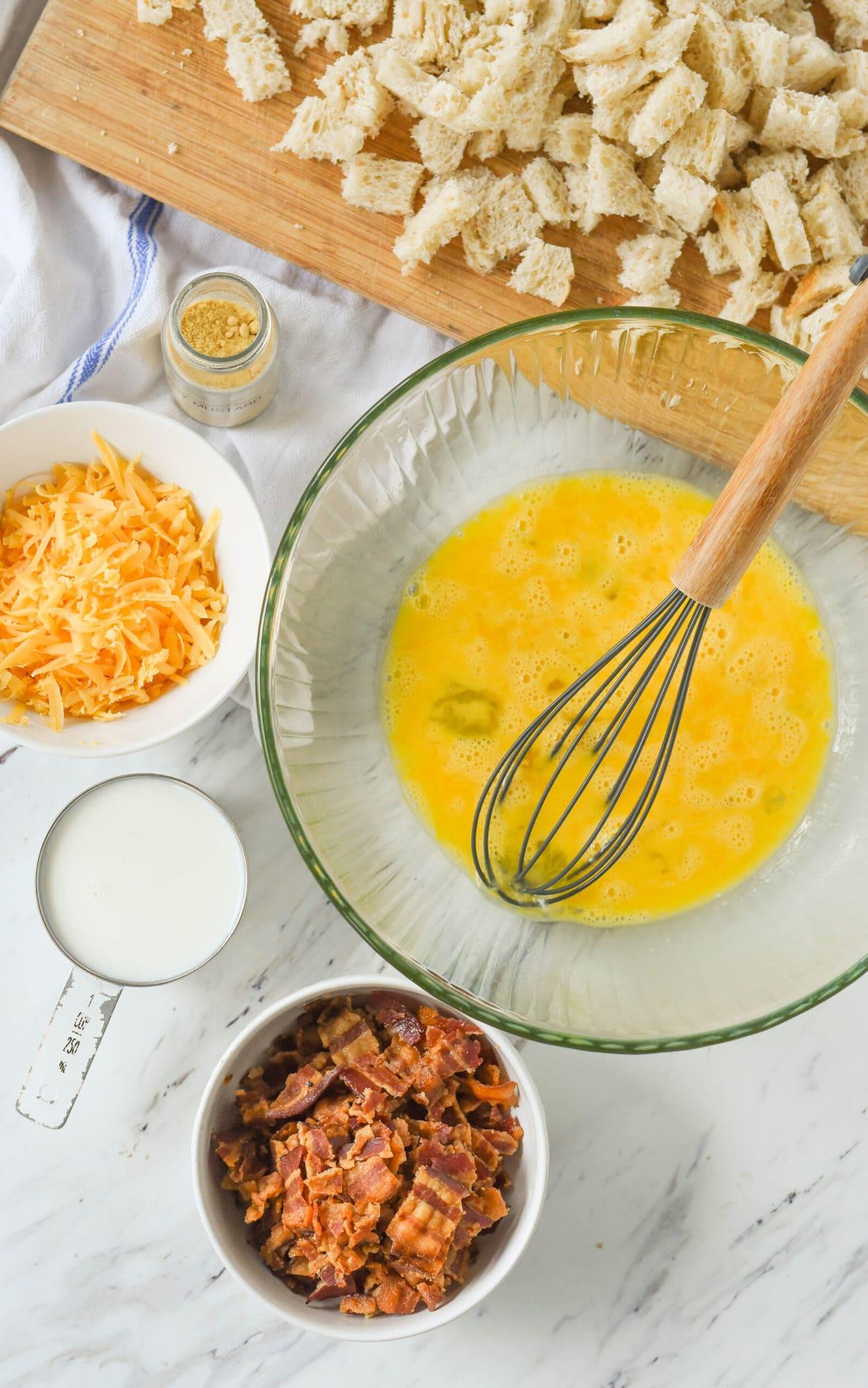 bacon casserole ingredients