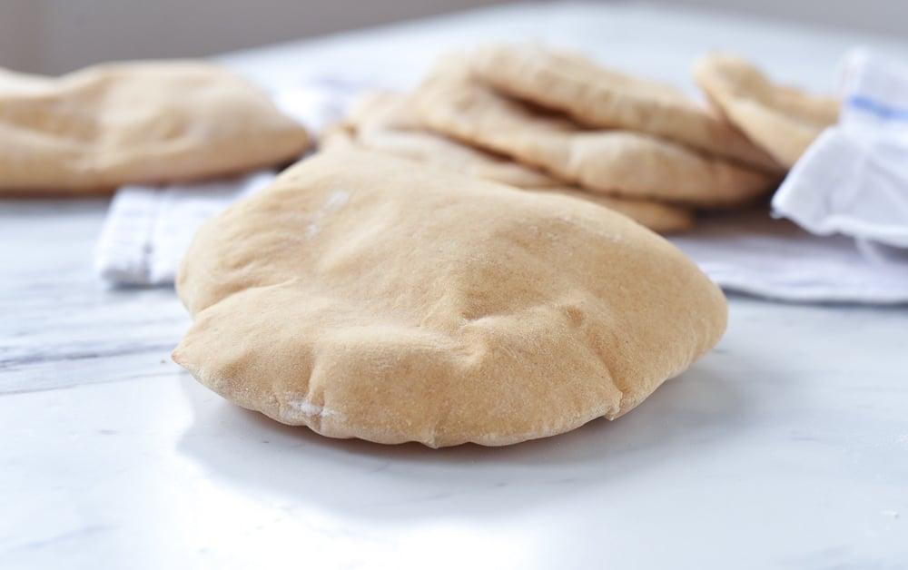 pita bread deflating