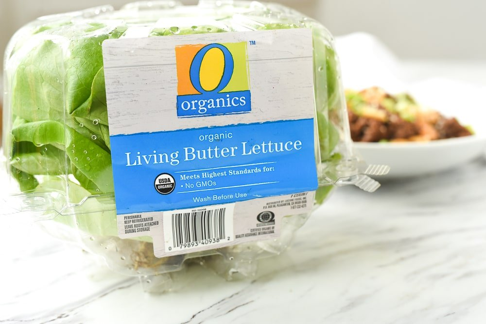 package of butter lettuce