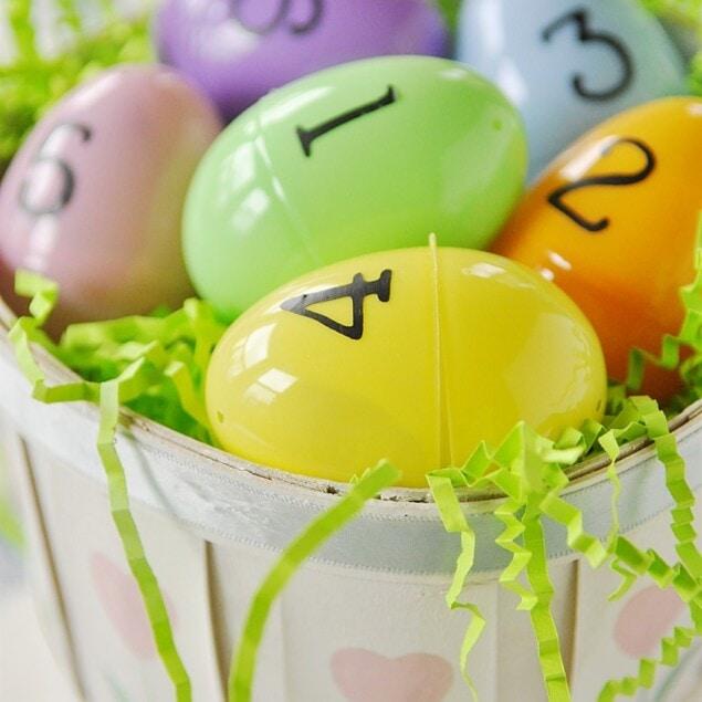 basket of easter egg scriptures