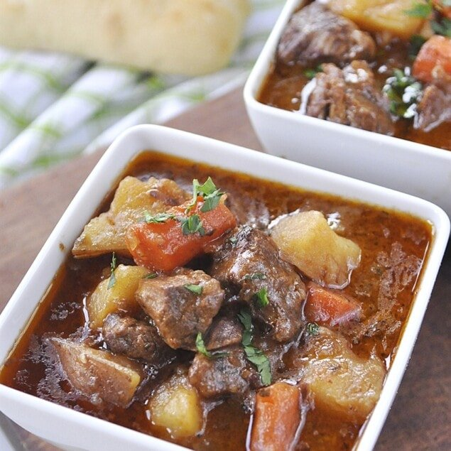 bowl of Irish stew