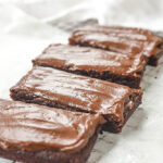 frosted brownies.