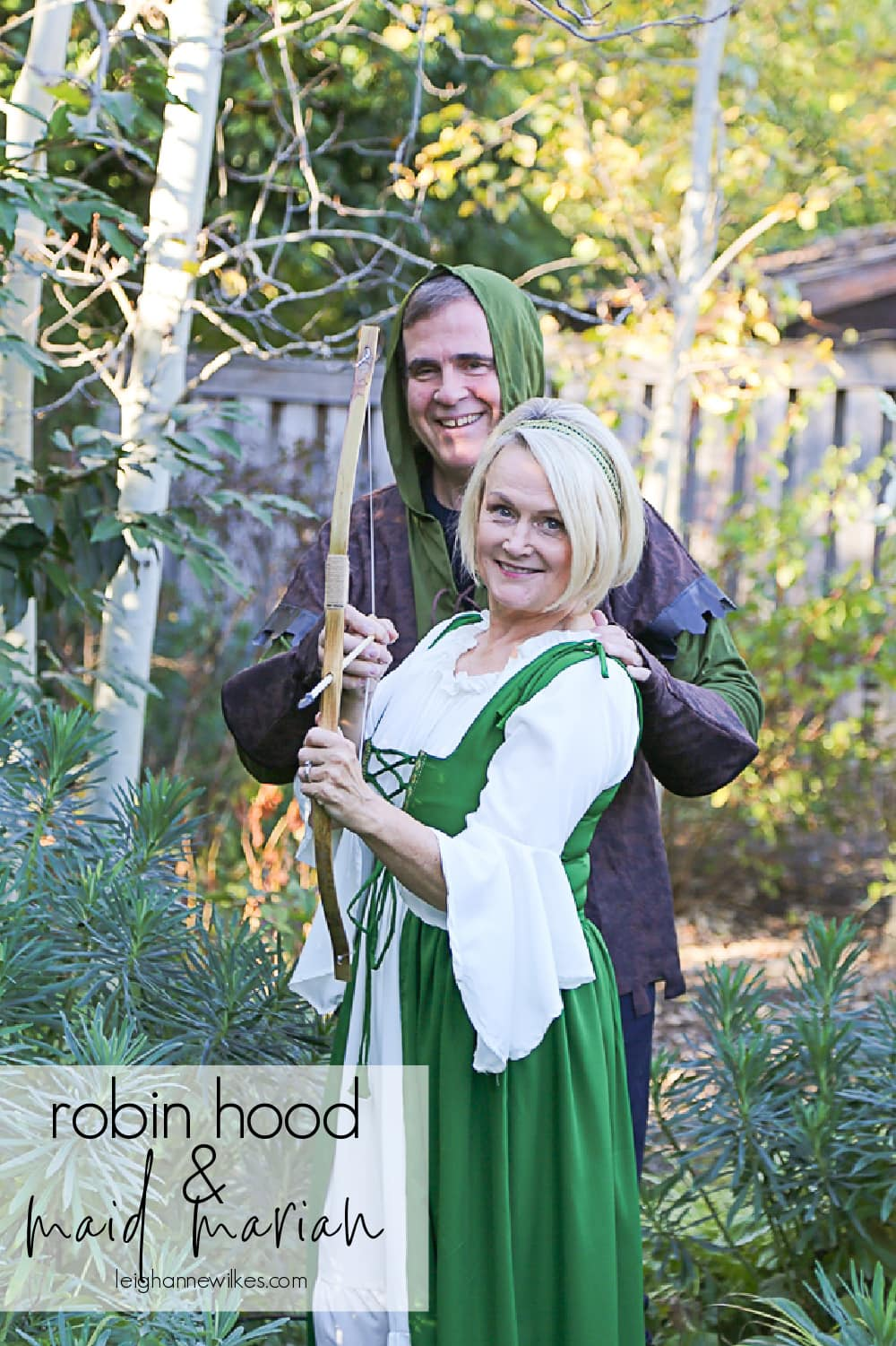 robin hood and maid marian costume idea