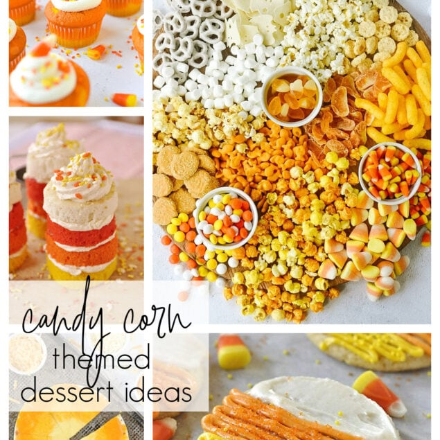 candy corn dessert ideas