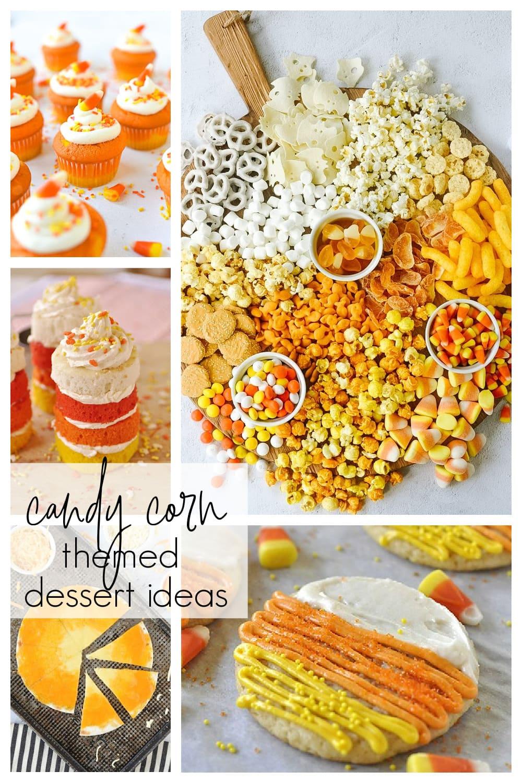 candy corn dessert ideas