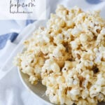 bowl of marshmallow popcorn