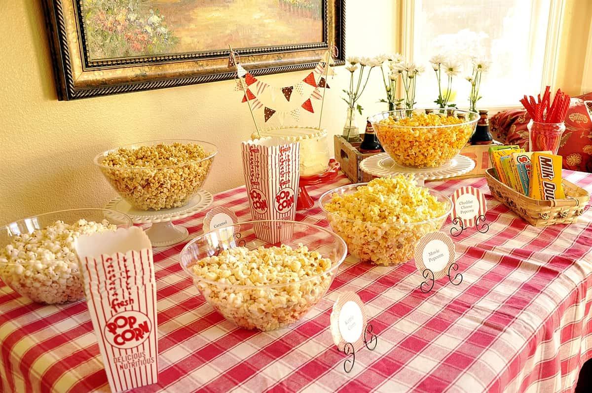 A Popcorn Bar