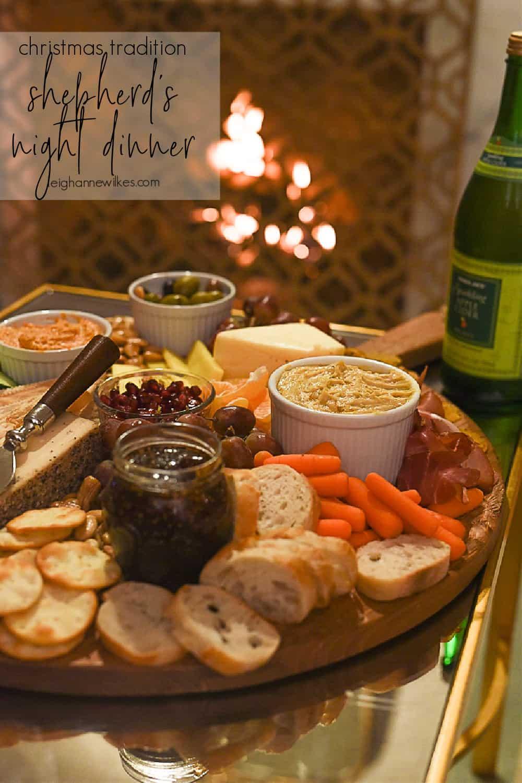 shepherd's night dinner menu