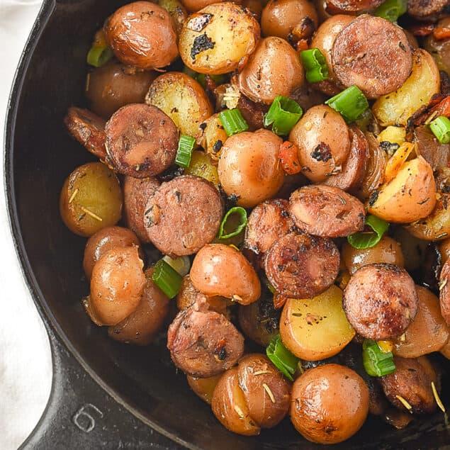 skillet breakfast potaotes