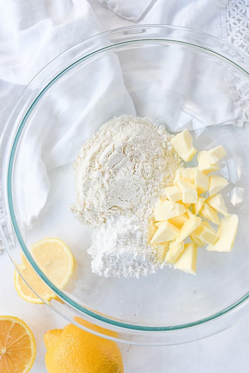 lemon bar ingredients