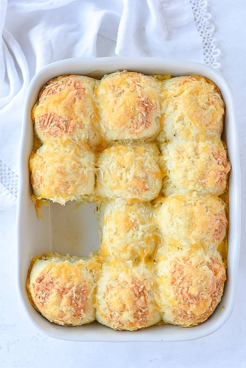 cheese herb rolls