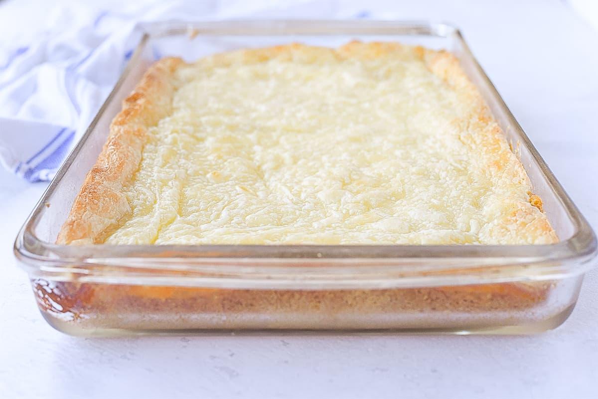 baked ooey gooey cake