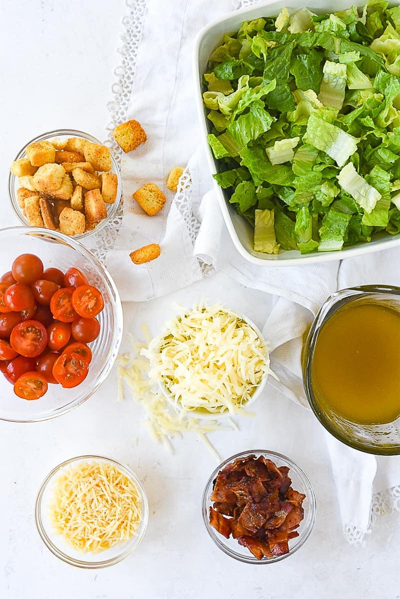 house salad ingredients