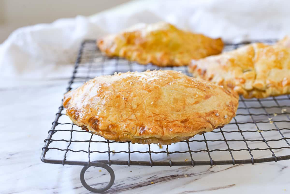baked cornish pastry