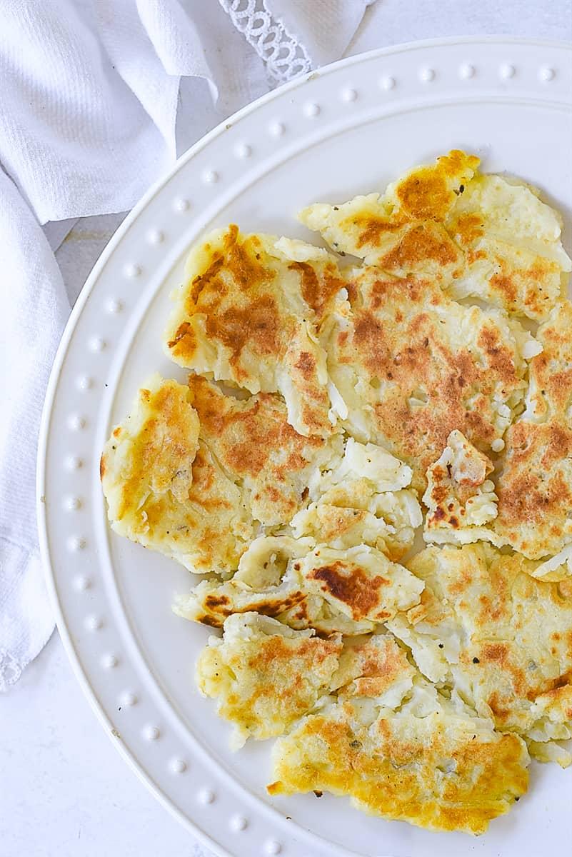 potato pancake on a plate