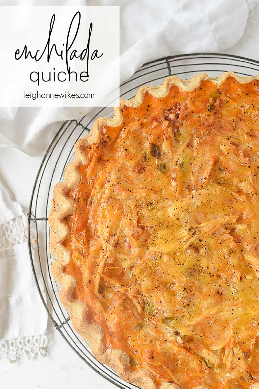enchilada quiche