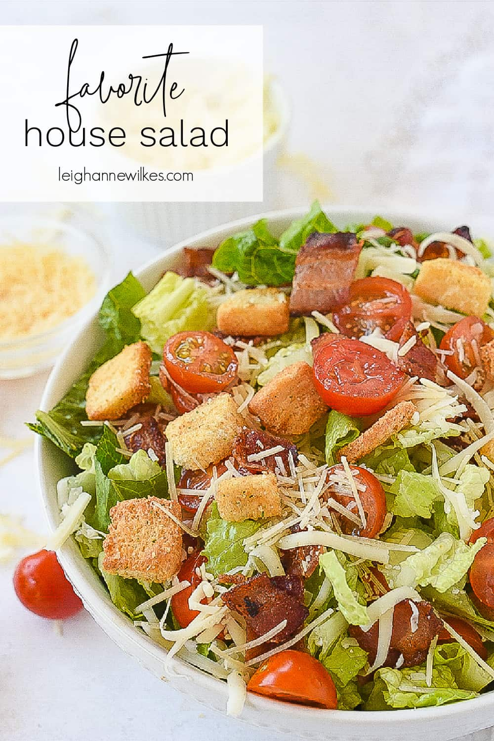 house salad in a bowl