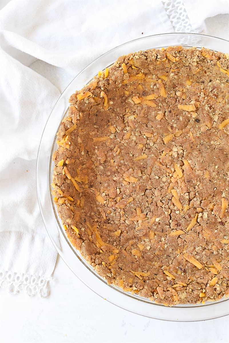 hazelnut quiche crust