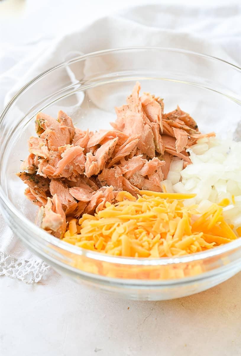 salmon quiche ingredients