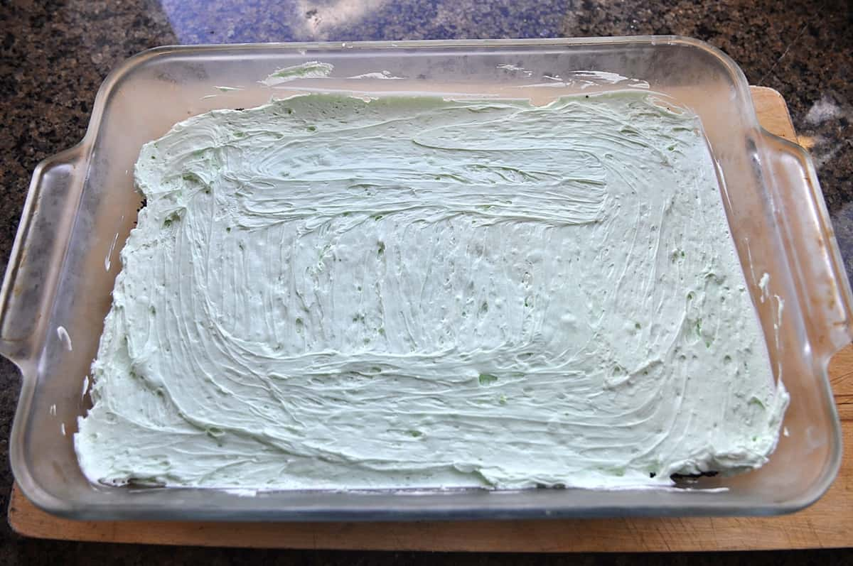 layer of chocolate lasagna