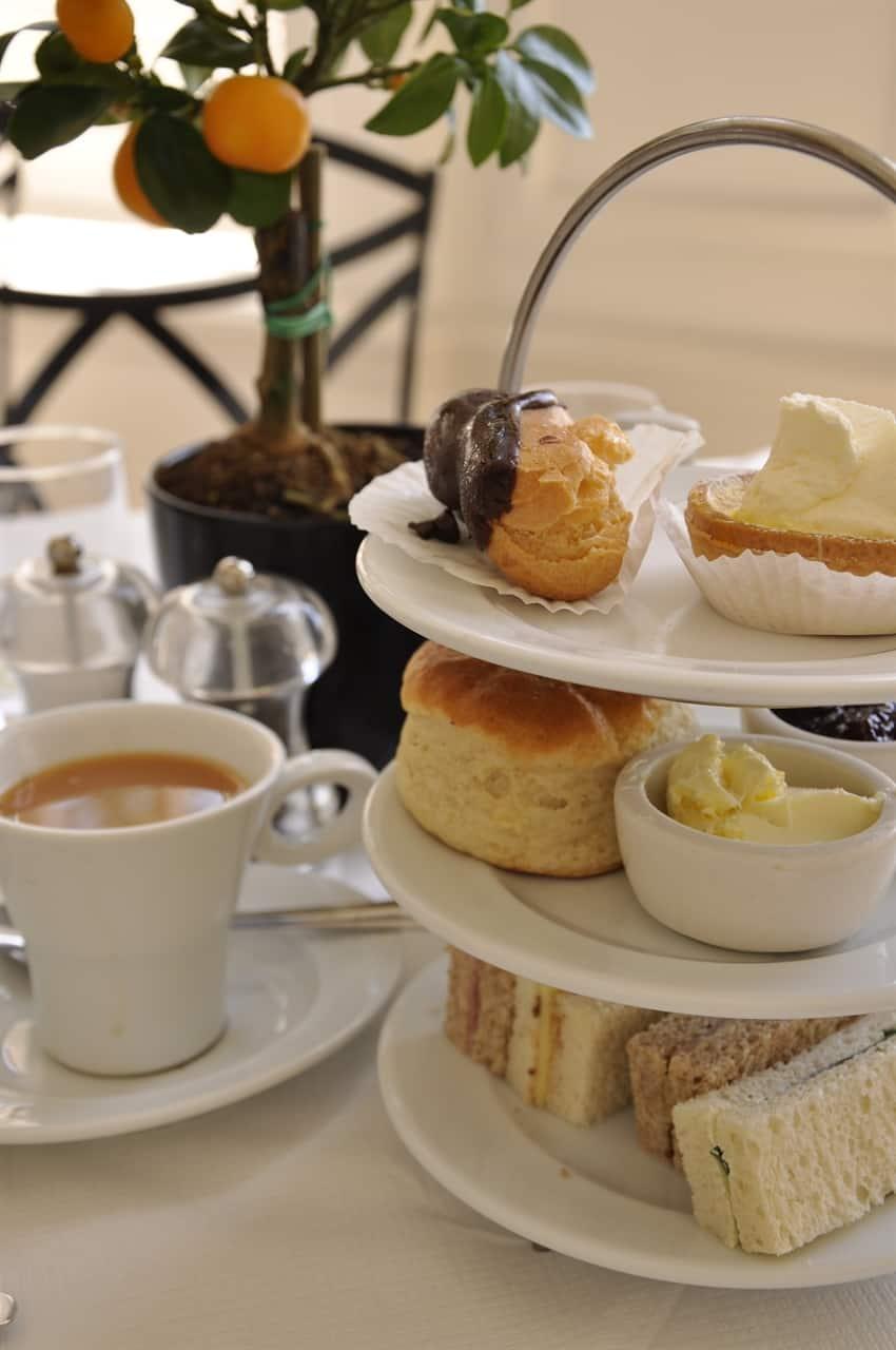 Tea at the orangery in London