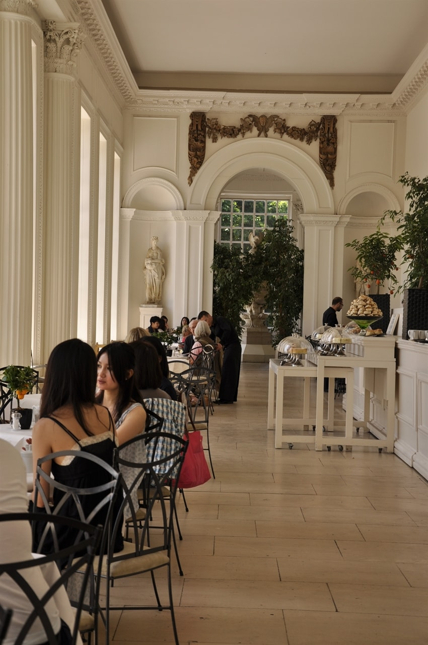 The Orangery in Kensington Gardens