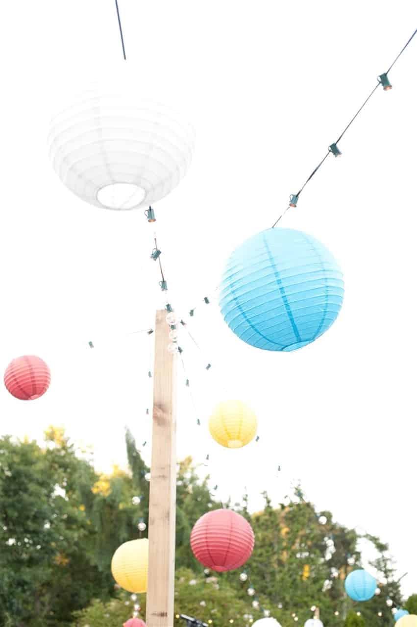 carnival paper lanterns