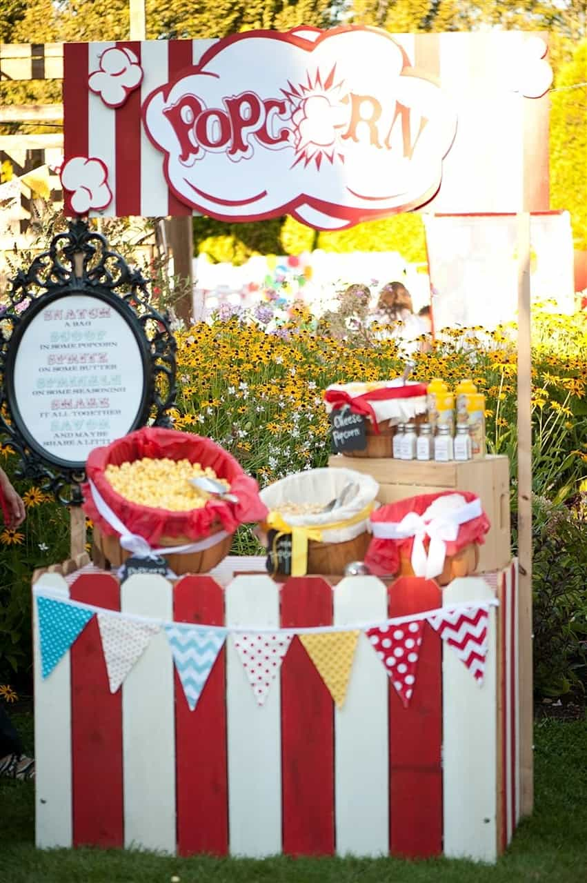 popcorn carnival booth