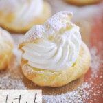 filled cream puff