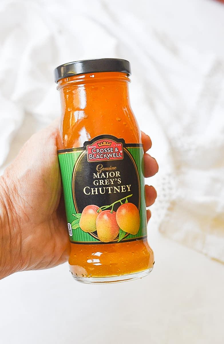 jar of mango chutney