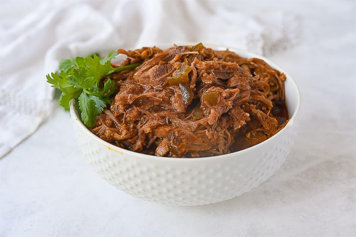 bowl of sweet pork