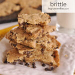 stack of cookie brittle