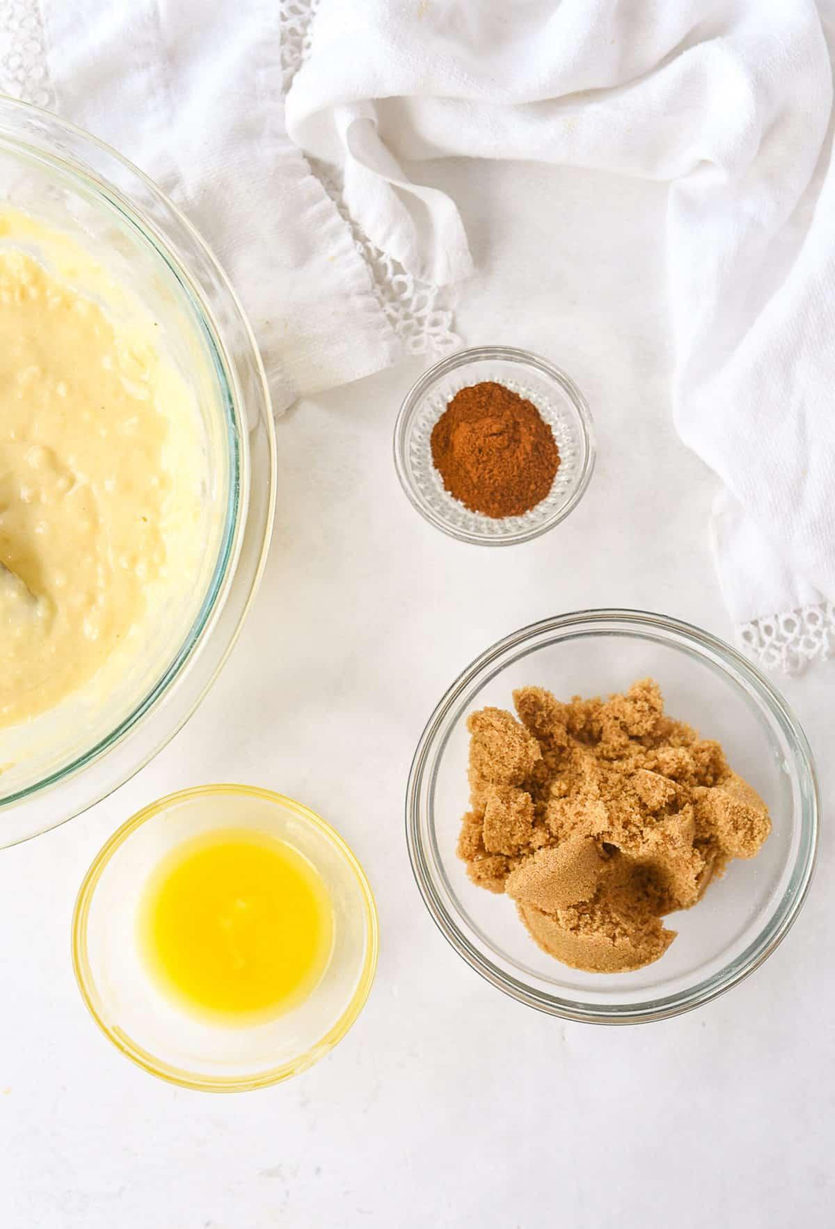 cinnamon topping ingredients