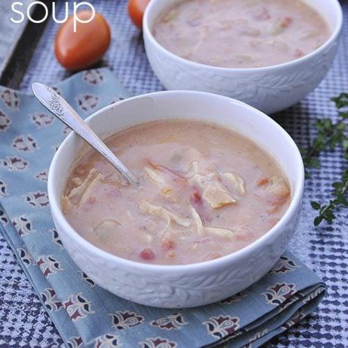Tarragon Chicken Soup