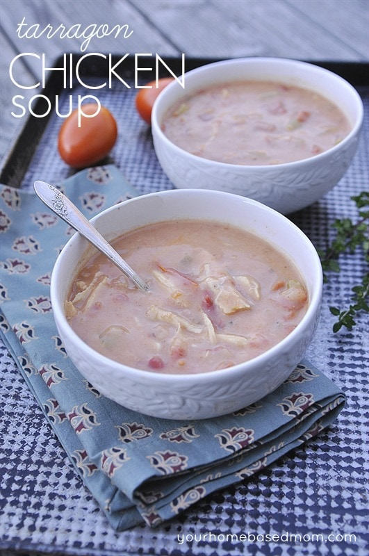 Chicken  Tarragon SOup